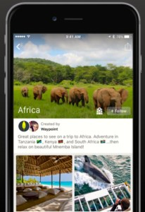 WAYPOINT Waypoint, a new social networking travel app founded by alumnus Ryan Summe (COL '10), launched on Apple's app store last week.