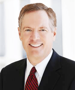 CHAMBERS AND PARTNERS Four Georgetown alumni, including the nominee for Special Trade Representative Robert Lighthizer (CAS '69 , LAW '73), are looking to serve in President Donald Trump's administration.