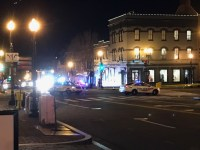 BRIAN CHEUNG MPD responded to reports of a suspicious package on M St. NW on Wednesday evening.
