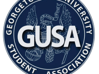 GEORGETOWN UNIVERSITY STUDENT ASSOCIATION Jenny Franke (COL '18) and Jack McGuire (COL '18) entered the GUSA executive race this weekend.