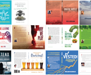 """COURTESY MCDONOUGH SCHOOL OF BUSINESS The new """"Launching the Venture"""" course taught by professor Eric Koester allowed students to write and publish books on entrepreneurship."""