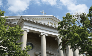 HOLY TRINITY CATHOLIC CHURCH Holy Trinity Catholic Church is one of the 60 religious congregations in the Washington, D.C.-Maryland-Virginia area that joined the DMV Sanctuary Congregation Network, a new initiative in support of immigrants.