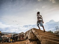 "PHOTO COURTESY OF OLIVIA WEISE  Entitled ""After the Crisis,"" photojournalist Sara May's exhibit features photos from her travels to Sierra Leone and offers an intimate look into everyday life, documenting the struggle of the human subjects as they adapt to life without the loved ones they lost to Ebola."