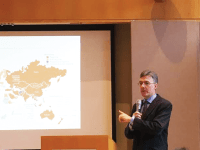 WILL CASSOU FOR THE HOYA Joachim von Amsberg, vice president of policy and strategy for the Asian Infrastructure Investment Bank, said the AIIB has succeeded where other regional development banks failed by adapting to emerging economies.