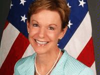 US DEPARTMENT OF STATE Former Counselor of the Department of State Kristie Kenney is slated to teach a course in the School of Foreign Service this spring.