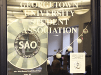 ANNE STONECIPHER FOR THE HOYA Georgetown University Student Association mental health advocates are fundraising for an off-campus therapy stipend program through Saxafund.