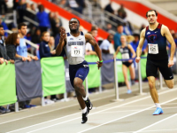 TRACK & FIELD   Men's Team Places 4th and Women's Team Places 5th in Big East Championships