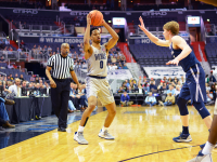 AMANDA VEN ORDER FOR THE HOYA Freshman guard Jahvon Blair scored 16 points in Monday's loss to Marquette. Blair is averaging 9.4 points per game this season.