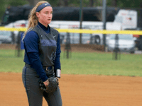 GUHOYAS Sophomore pitcher Anna Brooks Pacha started two games last weekend, striking out 19 batters and walking five in 14 innings. Pacha gave up three earned runs total last weekend.