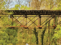 DC PRESERVATION LEAGUE A historic bridge once used to carry streetcars traveling between Georgetown and the Maryland suburbs is set to be demolished.