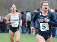 Graduate Student Josette Norris finished ninth at the Big East Cross Country Championships last season.