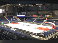 MONUMENTAL SPORTS Washington, D.C.'s latest entertainment and sports arena will host the Washington Mystics. The Congress Heights arena opened Sept. 22.