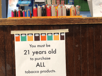 SUBUL MALIK/THE HOYA GUSA Policy Chair for Student Health Casey Kozak (NHS '20) is leading an effort to eliminate tobacco and nicotine usage on campus, following a referendum on banning tobacco and nicotine products on campus.