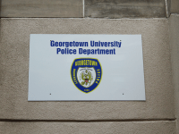 FILE PHOTO: ASHLEY CHEN/THE HOYA Student organizations urge the Georgetown University Police Department to reduce security fees for club-hosted events.