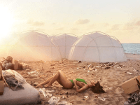"Vice Studios | ""Fyre: The Greatest Party That Never Happened"" documents the perils of advertising through social media influencers with the failure of the Fyre Festival. When guests landed on the Bahamian district of Exuma, they were met with surprise, as the island was filled with disaster relief tents and inadequate food and water supplies."