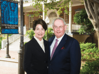 BAKER CENTER | Patricia Baker (COL '64) and John Baker (COL '64) seek to increase access to nontraditional educational opportunities on and off campus.