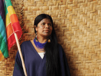 PATRICIA GUALINGA MONTALVO/FACEBOOK |  The three-day summit aims to strengthen ties between priests and indigenous leaders, like Patricia Gualinga of the Kichwa people, in preparation for an assembly of bishops called by Pope Francis on conservation in the Amazon.