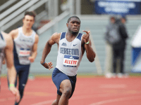 GUHOYAS   The 4x400m relay team took first place for the Hoyas in the final event of the day on March 23 at the Penn Challenge