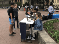 """CONNOR THOMAS FOR THE HOYA """"Yell at GUSA"""" is modeled off of past initiatives of Georgetown Univeristy Student Association Presidents, such as the """"Scream at GUSA"""" event that occurred in 2016."""