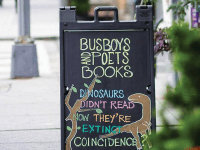 BUSBOYS AND POETS/FACEBOOK | Busboys and Poets is just one of the organizations that make spaces for sharing art while also emphasizing the important role of action within art.