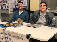 @MASKANDBAUBLE/INSTAGRAM   The Mask and Bauble Dramatic Society is just one of Georgetown's student-run theater groups that foster creativity and self-expression while building community. Bradley Cooper (COL '97) was also involved in theater at Georgetown.