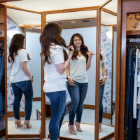 Post-Baby Denim Shopping Tips