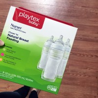 Our Bottle Phase with Playtex Baby