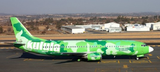Kulula Airlines- camouplane