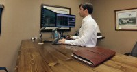 Custom Desk Spotlight - UPLIFT 950 L-Shaped Standing Desk ...
