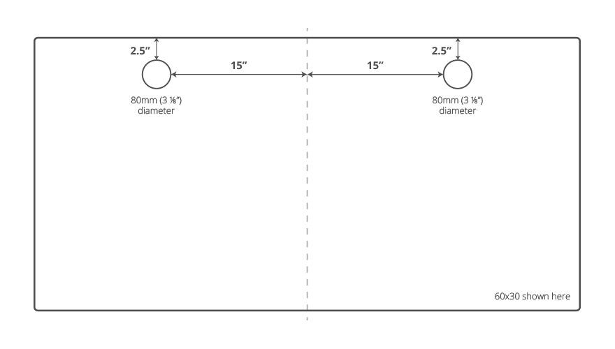 Shop UPLIFT 900 Four-Leg Adjustable-Height Standing Desks