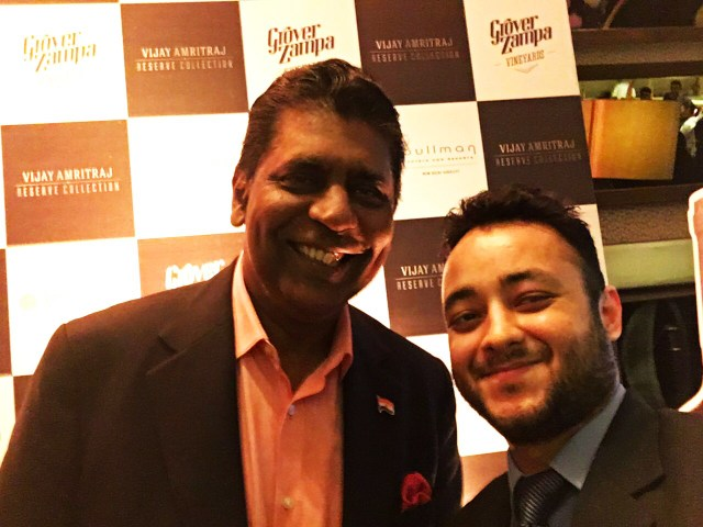 Selfie time with Vijay Amritraj himself