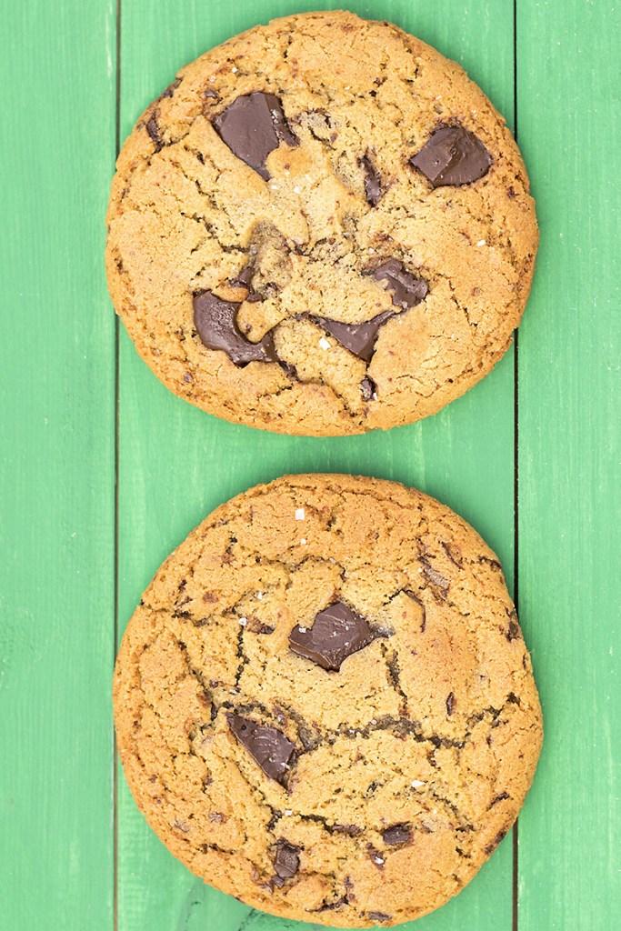 μαλακά μπισκότα σοκολάτας με ταχίνι και ελαιόλαδο 6