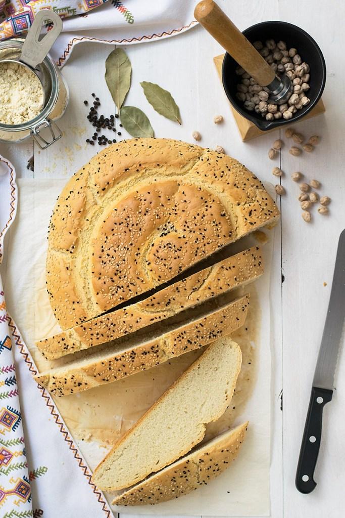 Εφτάζυμο ψωμί Κρητική συνταγή 1