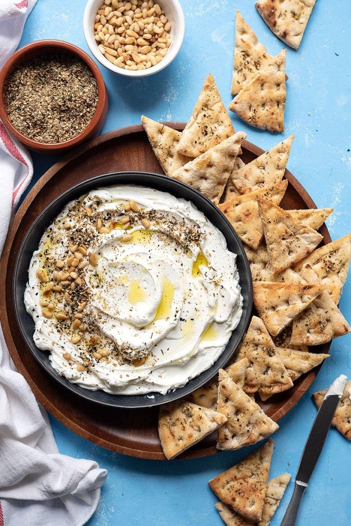 Φτιάξτε σπιτικό τυρί κρέμα από γιαούρτι (Labneh) 2