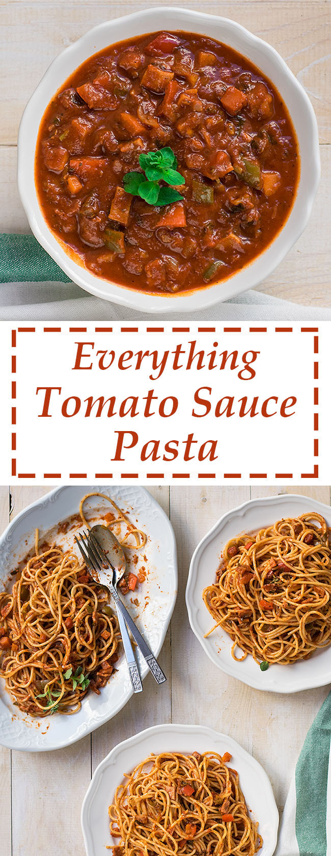 Everything tomato sauce for pasta 6