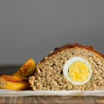 Meatloaf with hard boiled eggs 2
