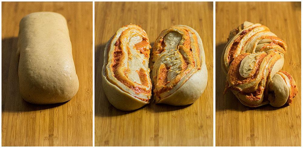 Goji berry, saffron & white chocolate babka 5