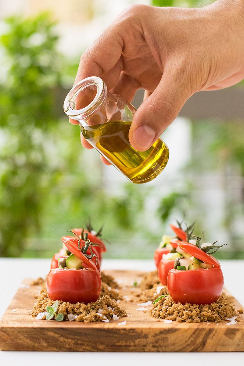 Authentic Greek Salad 2 ways 7