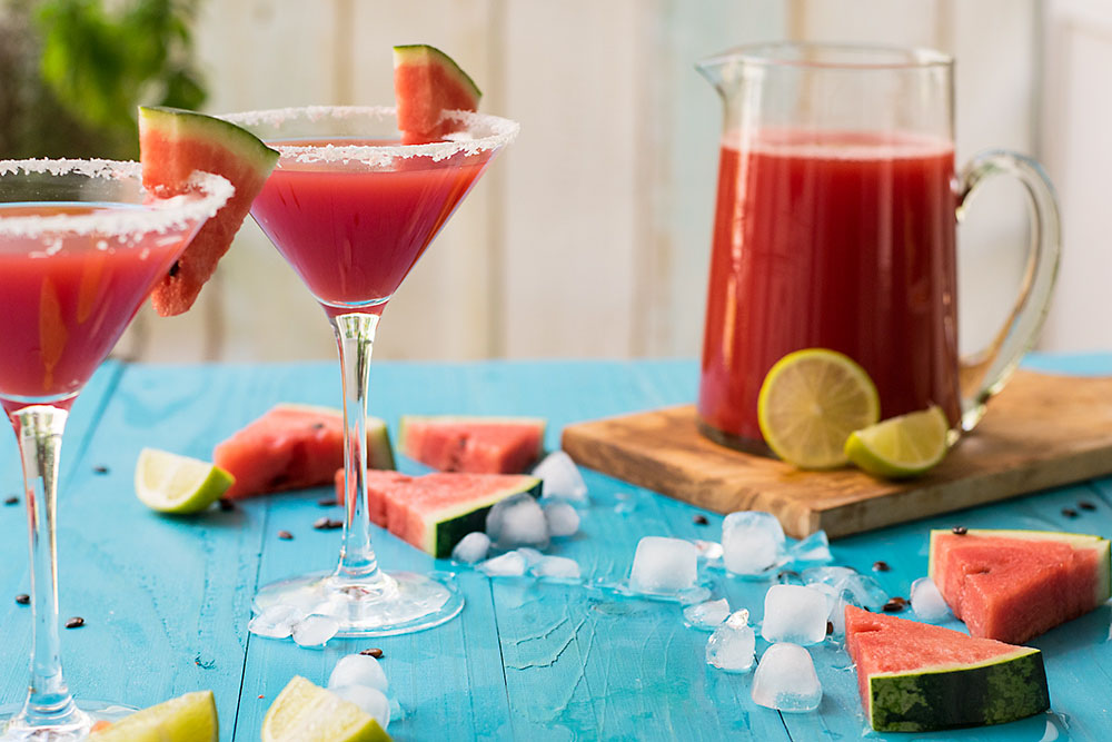 Watermelon & feta margarita 2