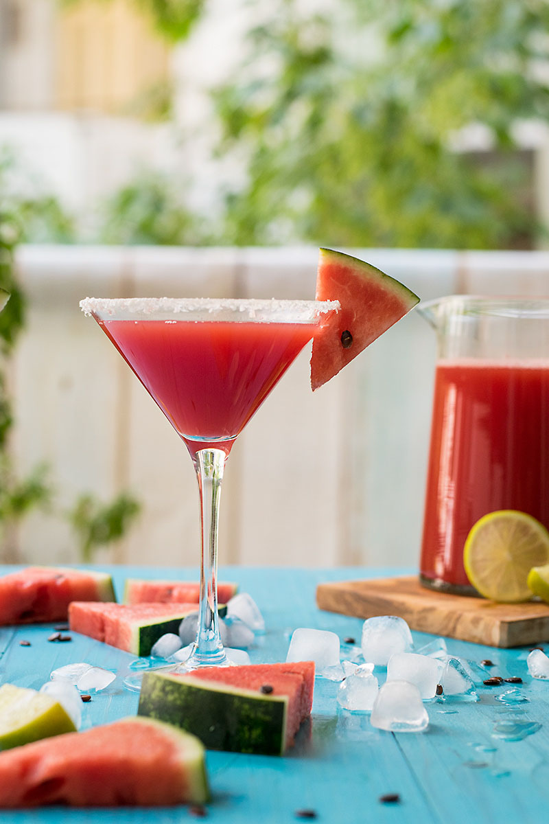 Watermelon & feta margarita 6