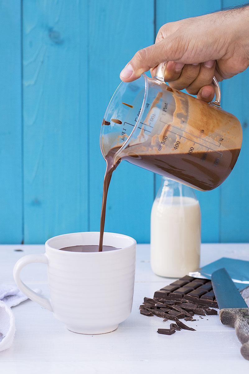 How to make thick & velvety French hot chocolate (Chocolat Chaud) 2