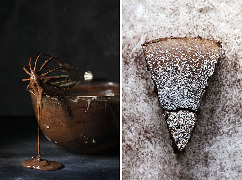 5-ingredient flourless chocolate cake (with no butter) 4