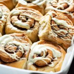 homemade cinnamon rolls recipe with the best icing feat