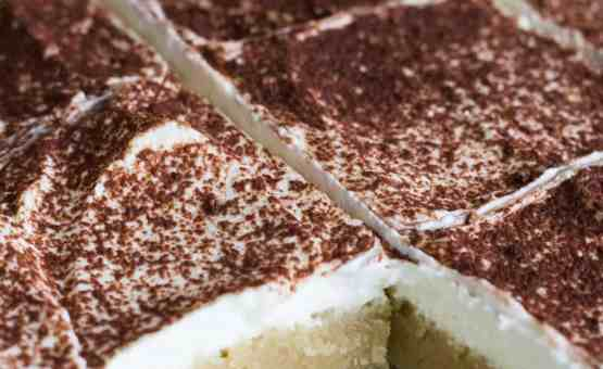 Keto Tiramisu Cake Recipe: The Hungry Elephant