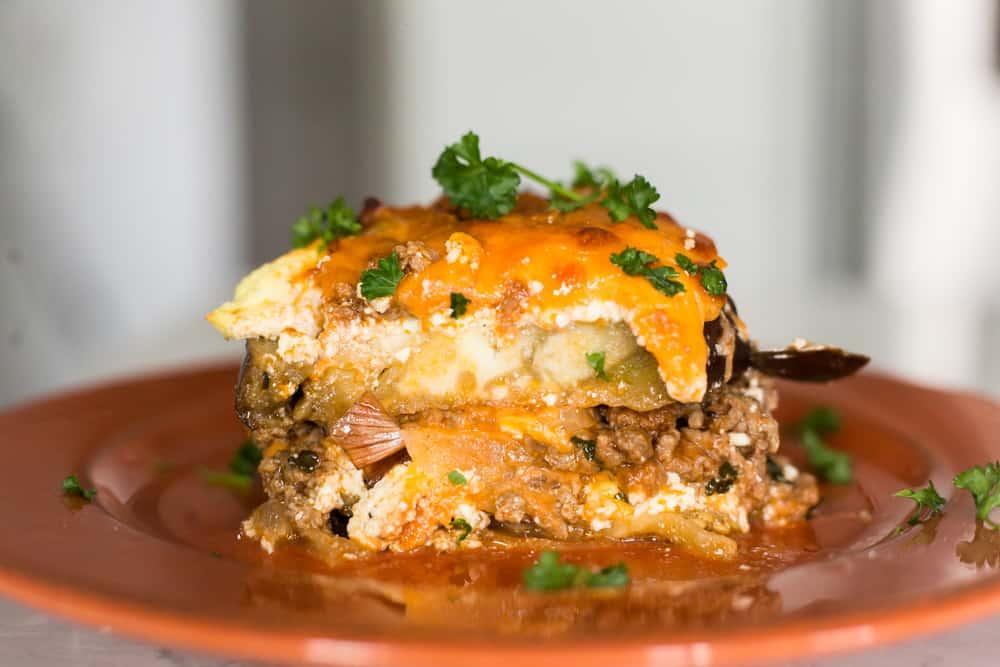 Keto Eggplant Lasagna – The Hungry Elephant