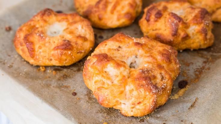 Keto Pizza Bagels