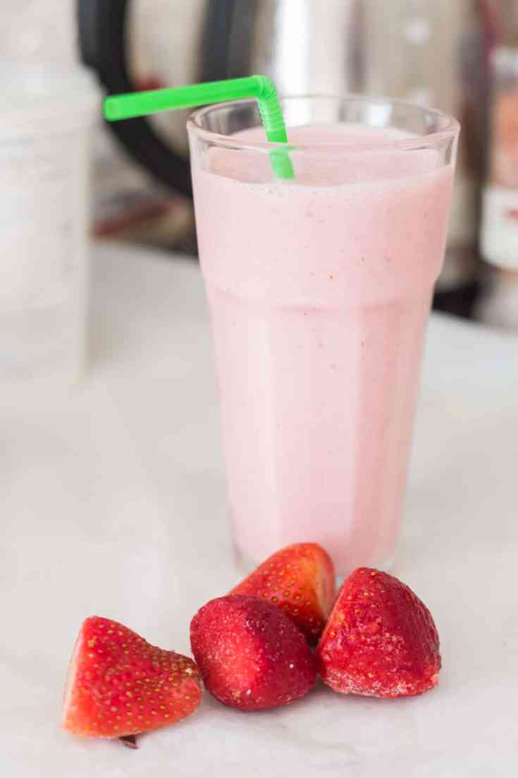 Keto Strawberry Smoothie