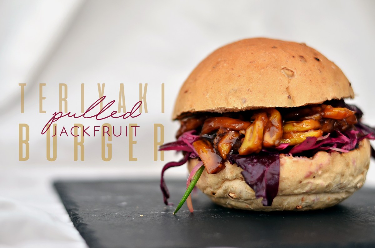 Teriyaki Pulled Jackfruit Burger