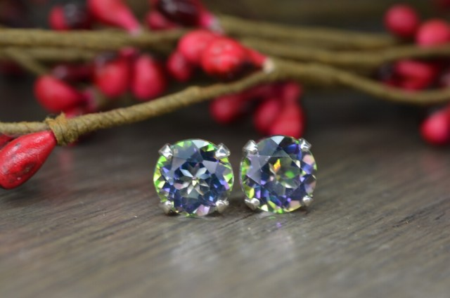 db7f908d6623d Holiday Giveaway: Sterling Silver Mystic Topaz Earrings | The Hungry ...