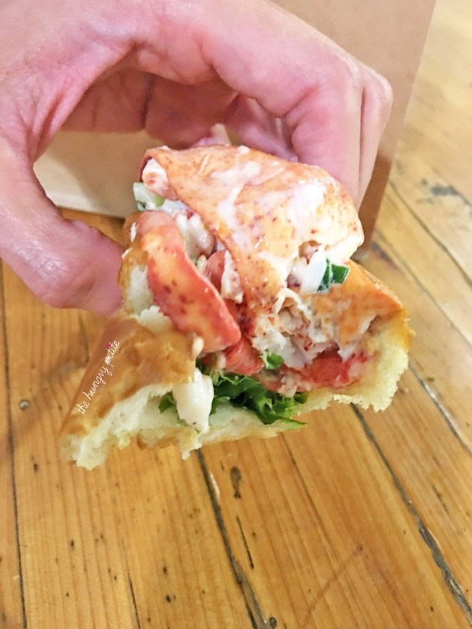 Lobster roll for second dinner